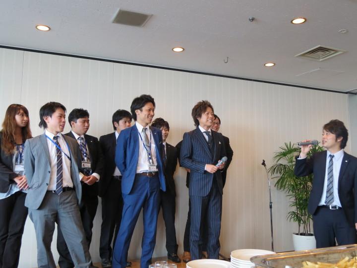 法人事業部下期経営方針発表会(2014)