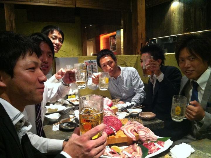 優秀者食事会(2013)
