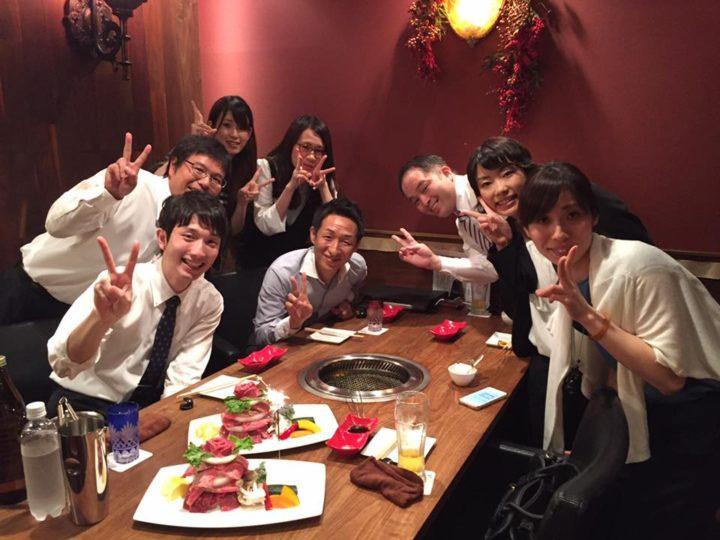 優秀者食事会(2017)